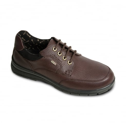Padders Terrain Gortex Brown Leather Lace Up Shoe
