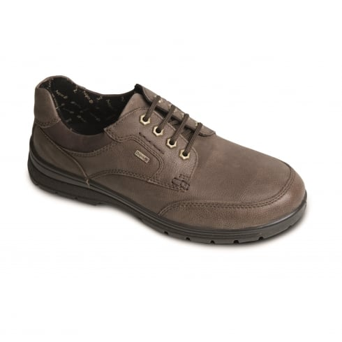 Padders Terrain Gortex Taupe Lace Up Leather Shoe