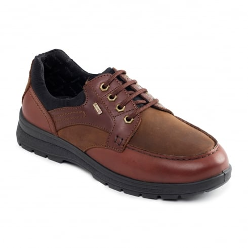Padders Trail Gortex Tan Leather Lace Up Shoe