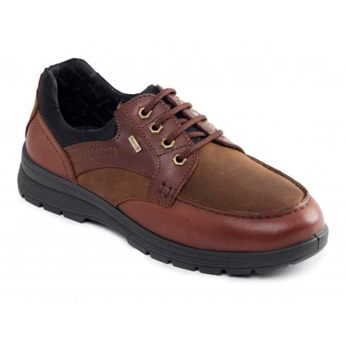 Padders Trail Tan Waterproof Leather Lace Up Shoe