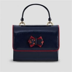 Casablanca Navy Handbag