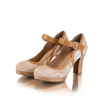 Cassandra Sand Mary Jane Style Shoe