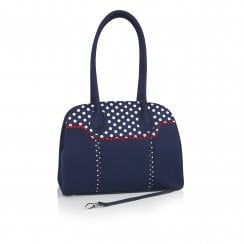 Montpellier Blue Handbag