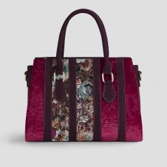 Panama Bordeaux Handbag