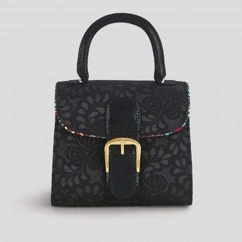 Ruby Shoo Riva Noir/Black Handbag