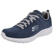 Navy/Grey Burst Second Wind Lace Up Trainer